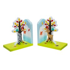 Enchanted Woodland Book Ends (Set of 2)