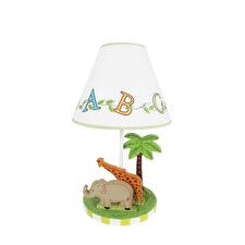 "Alphabet 19.5"" H Table Lamp with Empire Shade"