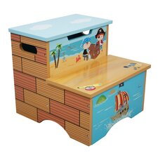 Pirates Island 2-Step MDF Fantasy Fields Step Stool