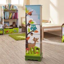 Enchanted Woodland 5 Drawer Dresser