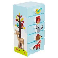 Enchanted Woodland Jewelry Box