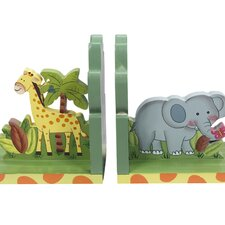 Sunny Safari Bookend (Set of 2)