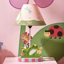 "Magic Garden 16.3"" H Table Lamp with Empire Shade"