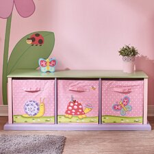 Magic Garden 3 Compartment Cubby