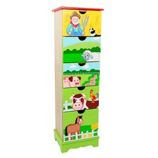Happy Farm 5 Drawer Cabinet