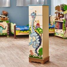 Dinosaur Kingdom 5 Drawer Cabinet