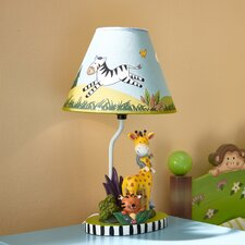 "Sunny Safari 15.5"" H Table Lamp with Empire Shade"