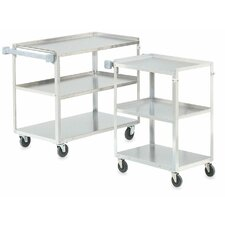 Stainless Steel Multi Purpose Three Shelf Utility Cart