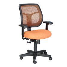 Apollo Mid-Back Mesh Swivel Office Chair