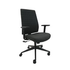 Frasso High-Back Leather Executive Office Chair with Tilt Lock