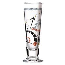 0.4 L Schnapsglas Black Label mit Schnapsdeckeln