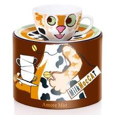 Cappuccino Tassen-Set Amore Mio