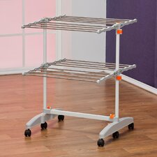 Foldable and Compact Storage Clothes Drying Rack