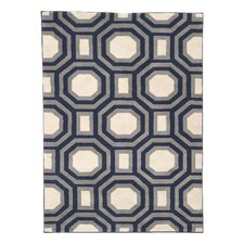 Ella Navy Area Rug
