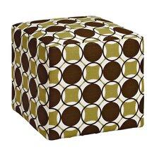 Sharron Geometric Cube Ottoman