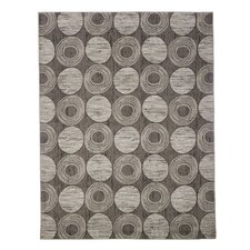 Gray Circles Area Rug