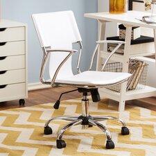 Ergonomic White Office Chair