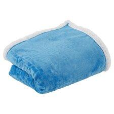 Ronda Textured Sherpa Throw Blanket