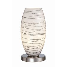 "Sierra 10.5"" H Table Lamp with Oval Shade"
