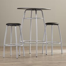 "Olga 3 Piece 42"" Pub Table & Stool Set"