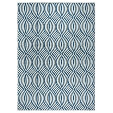 Lucia Blue/Gray Indoor/Outdoor Area Rug