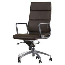 Ezra High-Back Office Executive Chair with Arms