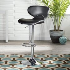 Francine Adjustable Height Swivel Bar Stool