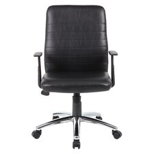 Maya High-Back Task Chair with T-Arms