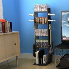 "Jerome Multimedia Storage 50"" Bookcase"
