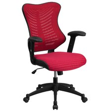 Heath Mid-Back Chair with Nylon Base