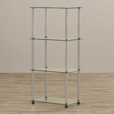 "Elizabeth 17.75"" x 38.75"" Classic Four Tier Tower"