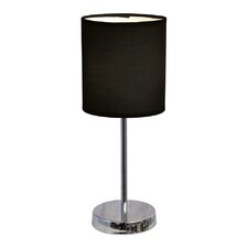 "Ariana 11.89"" H Table Lamp with Drum Shade (Set of 2)"