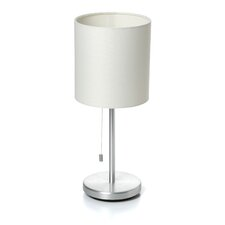 "Cara 14"" H Table Lamp with Drum Shade"