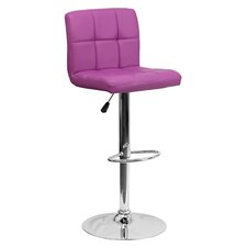 Faith Adjustable Height Swivel Bar Stool