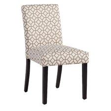 Martha Dining Chair in Gray Geometric