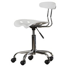 Ivan Mid-Back Task Chair with Tractor Seat
