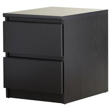 Ainsley 2 Drawer Deena Nightstand