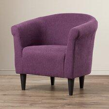 Savannah Fabric Barrel Chair