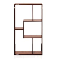 """Natalie Multimedia Wall Mounted 36"""" Accent Shelf Bookcase"""