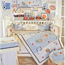 William 18 Piece Crib Bedding Set