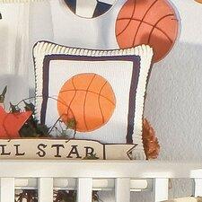 William Basketball Decorator Throw Pillow