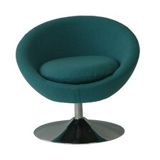 Annabelle Disc Base Barrel Chair