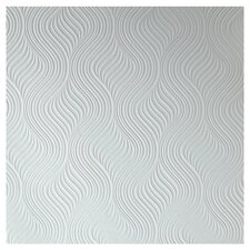 "Adeline 33' x 20.5"" Abstract 3D Embossed Wallpaper"