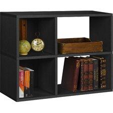 "Clara 24.8"" Bookcase and Cubby Storage Shelf"
