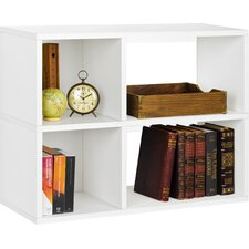 "Clara 24.8"" Bookcase and Cubby Storage Shelf"