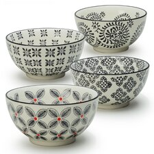 Jill 4 Piece Dining Bowl Set