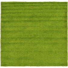 Madison Basic Apple Green Area Rug