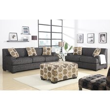 Natalee 2 Piece Living Room Set