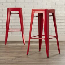 "Kristen 26.2"" Bar Stool (Set of 2)"