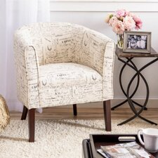 Marissa Patterned Arm Chair